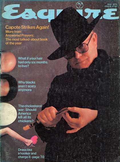 Figure 0.11. Capote Esquire cover