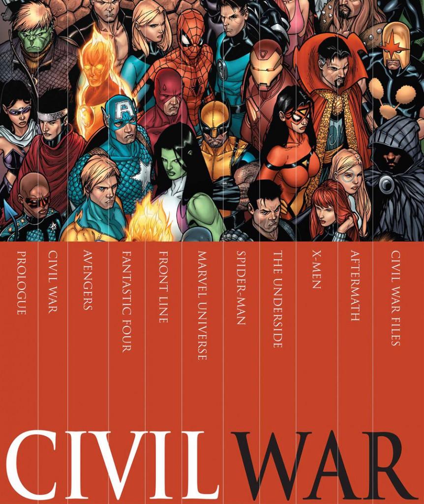 Figure 0.8. Marvel Civil War slipcase