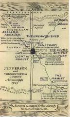 Figure 0.9. Map of Yoknapatawpha