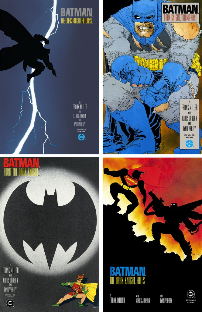 Figure 1.3 Dark Knight Returns Covers
