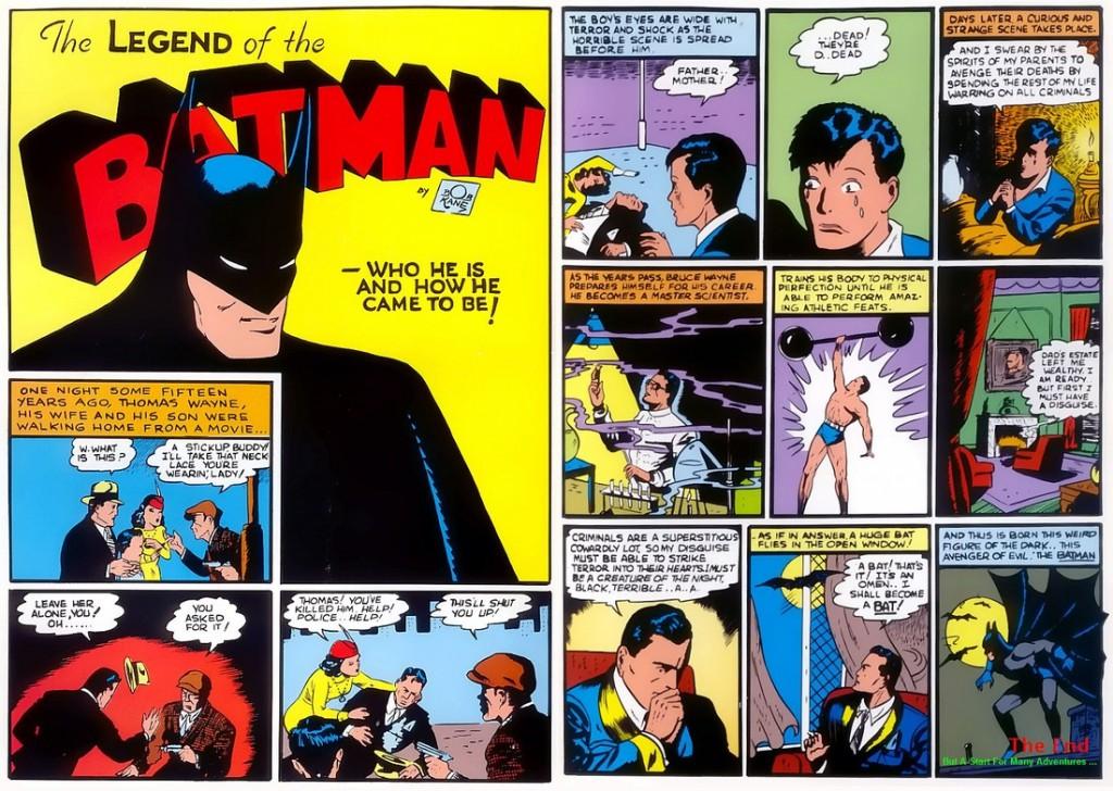 Figure 1.6 Batman origin