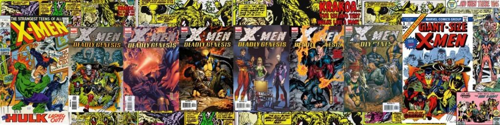 Figure 2.13 XMen Deadly Genesis collage