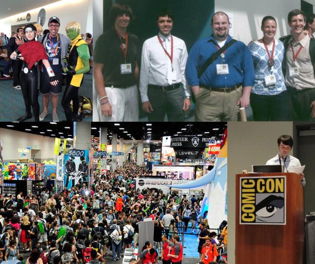 Figure 2.5 Comic Con collage