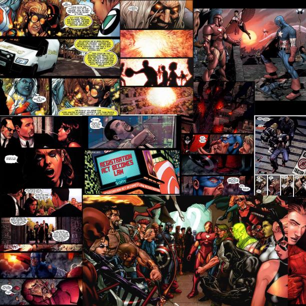 Figure 2.9. Civil War collage
