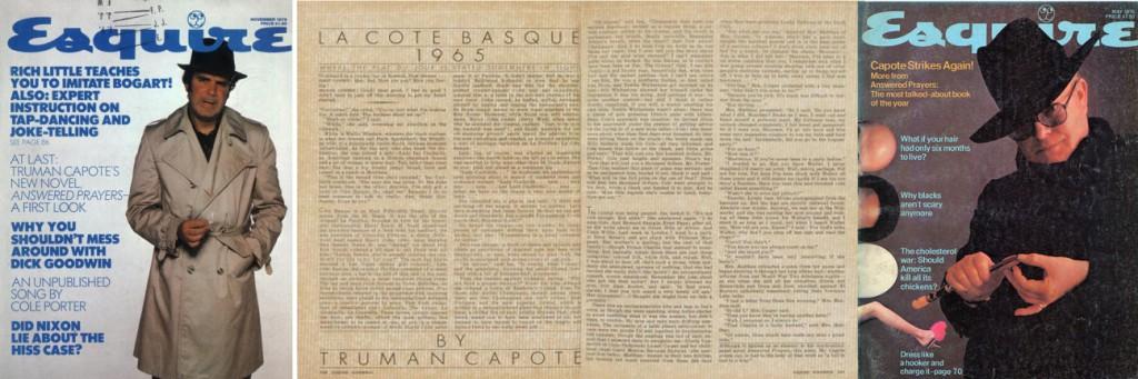 Figure 3.10 Capote in Esquire