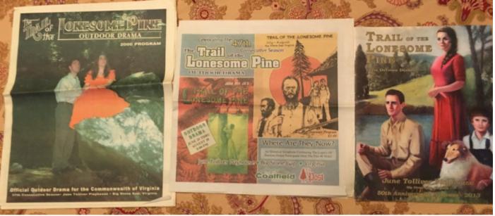 Figure 4.13 More Trail Playbills